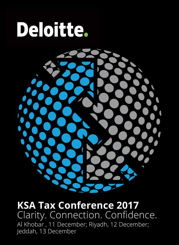 KSA Tax Conference 2017 - Riyadh