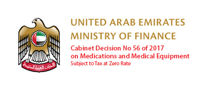 Cabinet Decision No 56 of 2017 on Medications and Medical Equipment Subject to Tax at Zero Rate