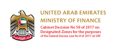 Cabinet Decision No 59 of 2017 on Designated Zones for the purposes of VAT